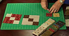 This Scrappy Chains Quilt Is Great For Beginners, And Looks Great Too