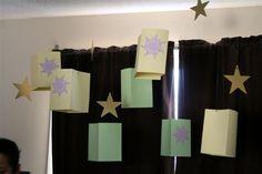 Hanging Lanterns & stars