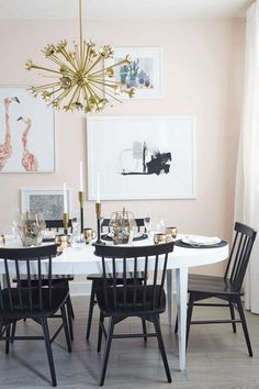 If you're lucky enough to have the space for a formal dining area then we'll all just be patiently waiting for our dinner party invite