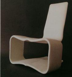 Fibreglass Chaiselongue_ Charles Zublena | Chair | Pinterest | Lp