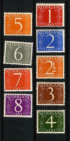 """numberoftheday: """" Van Krimpen Series (via marcel van den berg grafisch ontwerp) """""""