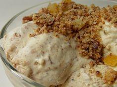 Rumosdió fagylalt Hungarian Recipes, Sorbet, Cake Cookies, Soul Food, Parfait, Food Styling, Fudge, Oatmeal, Muffin