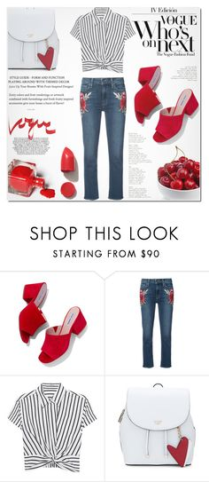 """No title"" by milica1940 ❤ liked on Polyvore featuring Steve Madden, Paige Denim, T By Alexander Wang and NARS Cosmetics"