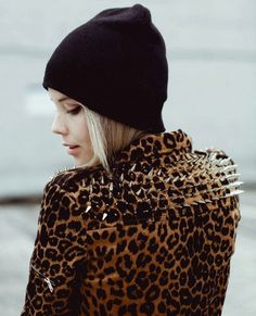 leopard and studs