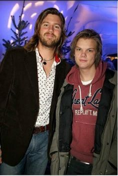 Avicii and his brother