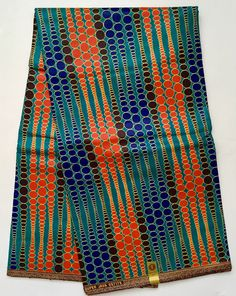 A personal favorite from my Etsy shop https://www.etsy.com/listing/507992539/african-print-fabric-dutch-wax-ankara