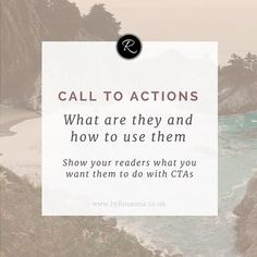 Ever wondered what people are on about when they talk about 'CTAs'? I've explained all in a recent blog posts about how to use 'Call to Actions' on your website. (link in bio)🌿