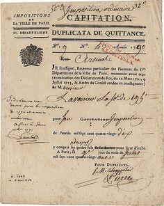 Antoine Lavoisier Letter
