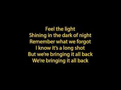 Feel The Light   Jennifer Lopez (Lyrics Full Song)   Http://