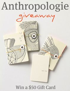 $50 ANTHROPLOGIE {OR URBAN OUTFITTERS GIFT} GIFT CARD GIVEAWAY @Love Stitched