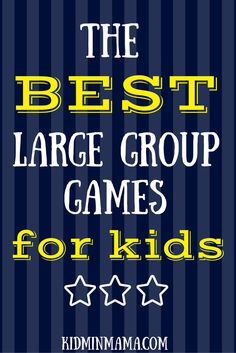 The BEST Large Group Games For Kids