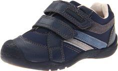 pediped Flex Charleston Sneaker (Toddler/Little Kid),Navy,31 EU (13-13.5 E US Little Kid)