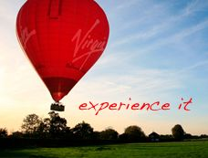 Hot air balloon rides. $190 per person for the sunrise package.