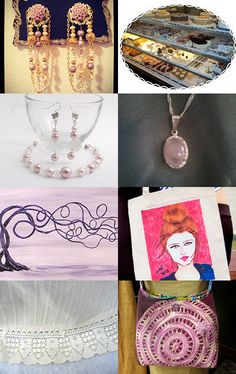 Don't Let These Pass By by Jeanne on Etsy--Pinned with TreasuryPin.com...includes my purse...