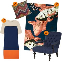 http://interiorapartment.me/2012/07/25/get-the-preen-colour-blocked-look-in-your-home/
