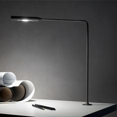 Flo LED Grommet Desk Lamp