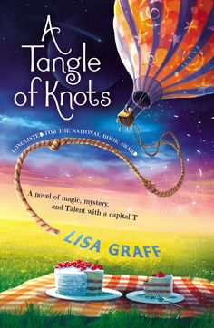 #NewRelease ~ A TANGLE OF KNOTS by Lisa Graff -- #YA 8+ ~In a slightly magical world where everyone has a Talent, eleven-year-old Cady is an orphan with a phenomenal Talent for cake baking. But little does she know that fate has set her on a journey from the moment she was born. ~ Feb 11, 2014 ~ Puffin