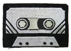 New 1980's Cassette Tape Iron on Patch Punk 80's Gothic 90's Retro Vtg Mix DIY | eBay