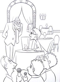 Ratatouille coloring page.24