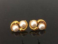 Vintage By Napier Jewelry Faux Pearl Earrings by wandajewelry2013