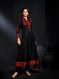 Eid Dresses 2013-14 | Indian Dresses for Eid | SURBHI ANARKALI COLLECTIONS FOR EID - FASHIONPAB | FASHIONPAB