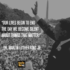 Today we pause to remember one of America's most inspirational leaders. And we remind ourselves that each of us can make a difference no matter how big or small.