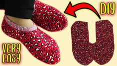 Diy Bow, Diy Ribbon, Diy Projects To Try, Sewing Projects, Sewing Men, Sour Candy, Winter Socks, Making Faces, Shoe Pattern