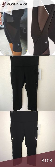 NWT BLACK LULULEMON FAST AS LIGHT CROP - - Size 4 Brand: Lululemon Athletica fast as light crop                Condition: New with tag || Size 4 || Black         📌NO  TRADES  🛑NO LOWBALL OFFERS  ⛔️NO RUDE COMMENTS  🚷NO MODELING  ☀️Please don't discuss prices in the comment box. Make a reasonable offer and I'll either counter, accept or decline.   I will try to respond to all inquiries in a timely manner. Please check out the rest of my closet, I have various brands.. lululemon athletica…