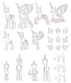 [MLP]draw alicorn by Pennygu