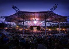 Rock out at the Verizon Wireless Amphitheatre at Encore Park in Alpharetta, Georgia!