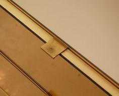 1970's Ello cabinet drawer finger pull/tab