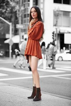 Pinterest @esib123  #style #inspo  Move lightly in these hopelessly romantic dresses and rompers.