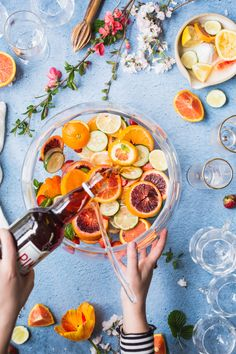This Pimm's Punch recipe is light and refreshing, with hints of fresh cucumber and strawberries. Easy to make and looks stunning with fresh produce.