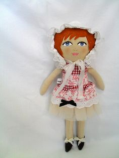 Redhead custom doll 185 by A Little Vintage, via Flickr