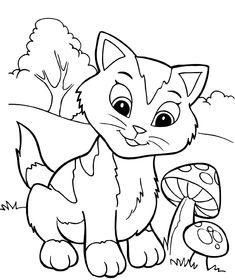Discover these free and printable free fun worksheets for kids to introduce them to new concepts and ideas, available with fun activity sheets from tracing, coloring to a challenging maze! Frozen Coloring Pages, Farm Animal Coloring Pages, Easy Coloring Pages, Cat Coloring Page, Coloring Books, Free Coloring, Coloring Pictures For Kids, Coloring Pages For Teenagers, Coloring Pages For Kids