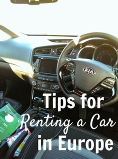 Tips for Renting A Car in Europe & Driving On The Opposite Side Of The Road