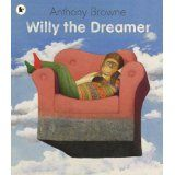Buy Willy the Dreamer by Anthony Browne at Mighty Ape NZ. A stunning Willy book with spectacular, surreal paintings - by one of the most acclaimed of all picture book artists. Willy loves to dream. Book Study, Book Art, Marcel, Voices In The Park, Anthony Browne, Magical Pictures, Album Jeunesse, Ecole Art, Surrealism Painting