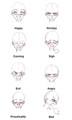 GABARITOS DE EXPRESSÕES   desenhos de expressões e como desenhar expressões.