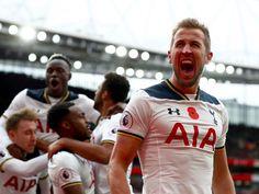 Harry Kane — Tottenham Hotspur striker.