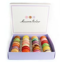 Fancy Macarons in Hand-Picked Flavors | Great hostess gift for the holidays