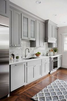 Choices In White Kitchen Cabinets - CHECK THE IMAGE for Many Kitchen Ideas. 96547595 #kitchencabinets #kitchens