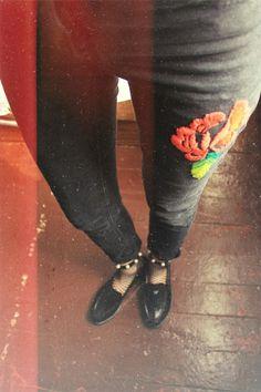 Czarne spodnie :)