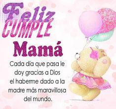 Mensajes de Cumpleaños para MamáMensajes de Cumpleaños para Mamá Happy Birthday Prayer, Happy Birthday Wishes Quotes, Happy Birthday Mom, Birthday Wishes Cards, Mama Quotes, Happy B Day, Baby Center, Perfect Gift For Mom, Google