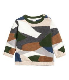 H M Knit Cotton Sweater  14.99 Human Babies f4a28049f0c
