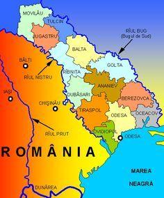 Pentru toți liderii ruşi din Imperiului Țarist, Uniunea Sovietică sau Rusia post-sovietică, regiunea Transnistriei a reprezentat un cap de ... Republica Moldova, Cartography, Romania, Bun Bun, Internet, Country, Maps, Russia, Geography