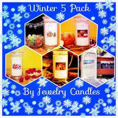 #3: An awesome 5 pack graphic for our jewelry candles winter 5 pack! Thanks cheryl!