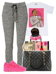 """""""Bye Felicia ?"""" by daqveen ❤ liked on Polyvore featuring NIKE"""