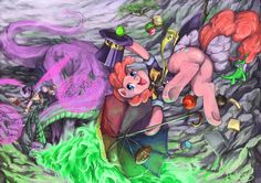 ThePonyArtCollection: Pinkie and friends
