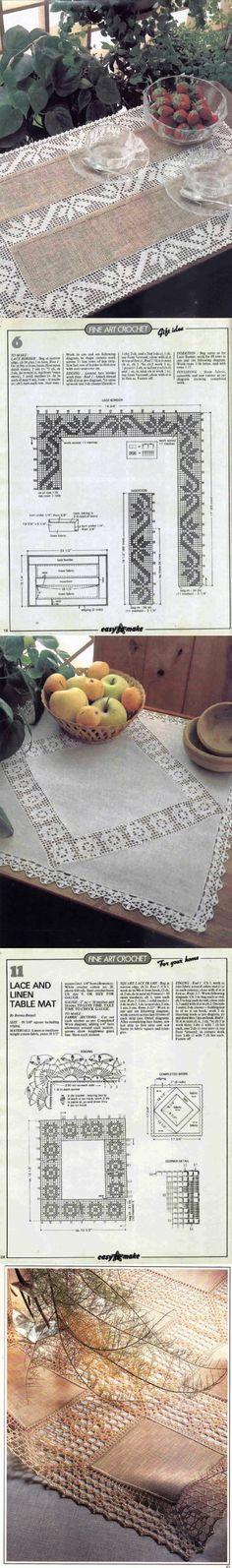 Cotton or linen fillet LACE... ♥ Deniz ♥