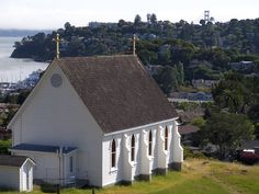 Old St Hilary Tiburon California Architecture Church